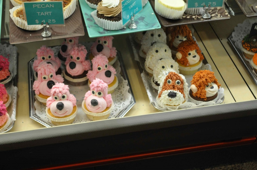 Super cute cupcakes at another bakery in Chelsea Market.