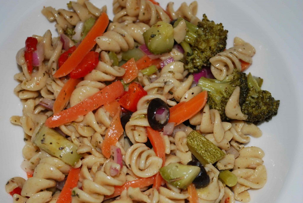 My Ode to Pasta Salad